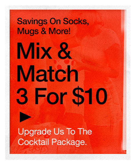 Mix & Match 3 for $10