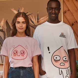 Cotton On X Kakao Friends. Click to shop.