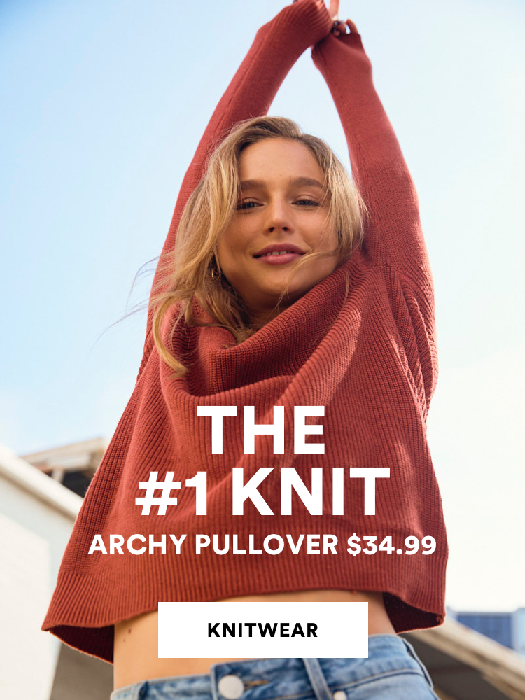 The number one Knit, $34.99. Click to shop