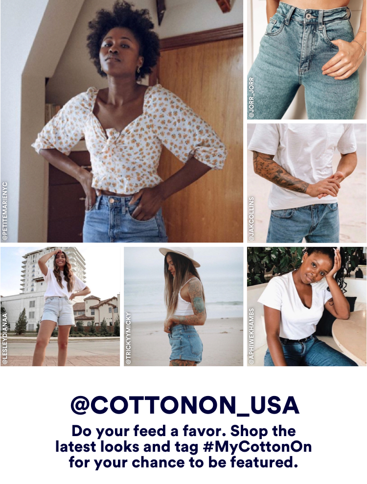 Cotton On. Instagram @cottonon_usa.