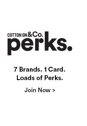 Perks: 7 Brand. 1 Card. Loads of Perks