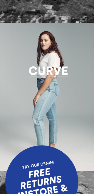 Cotton On Curve Jeans. Click to shop now.