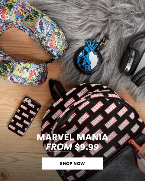Marvel Mania from $9.99. Shop Now.