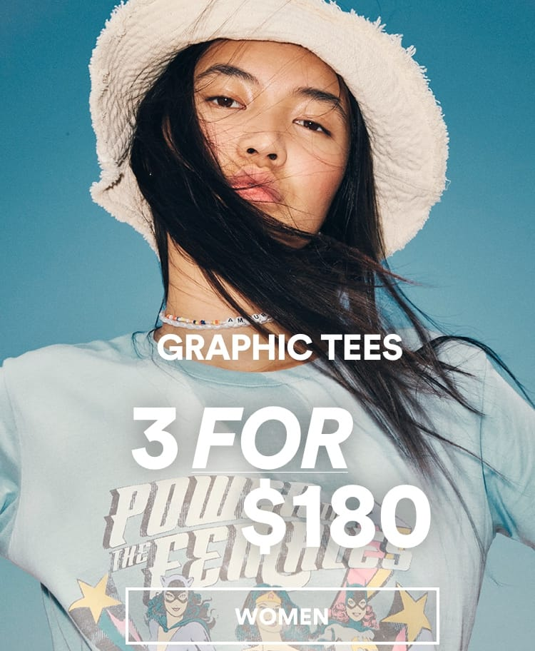 Cotton On Women's Graphic Tees. Click to shop.