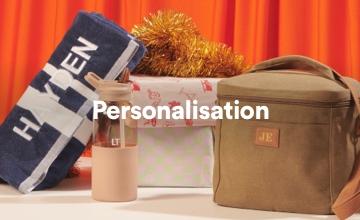 Shop Personalisation