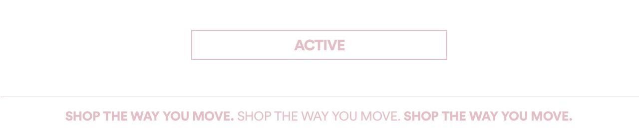 Activewear. Click to Shop.