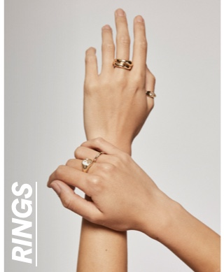 Rings. Click to shop.