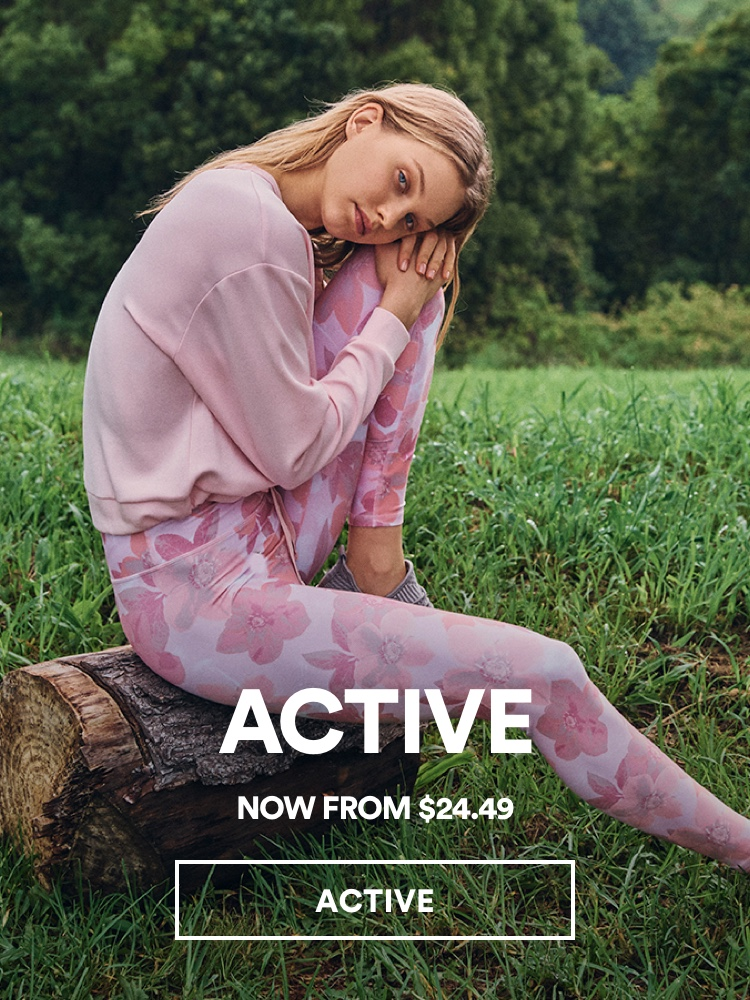 Cotton On Activewear. Click to shop.