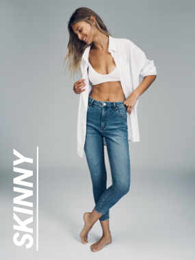 Skinny Jeans. Click to shop.