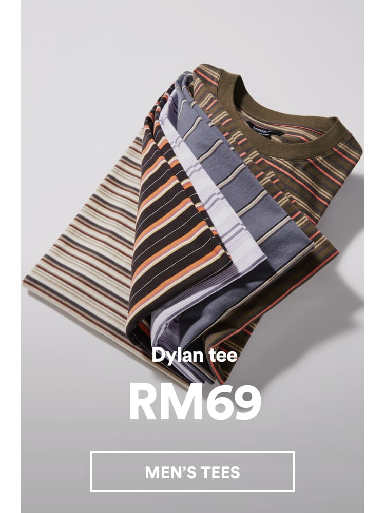 Men's Dylan Tee. Click to shop