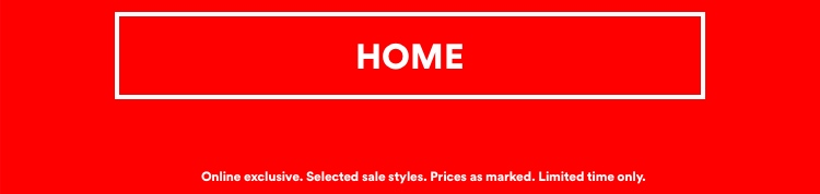 Extra 20% Off Sale. Shop Home.