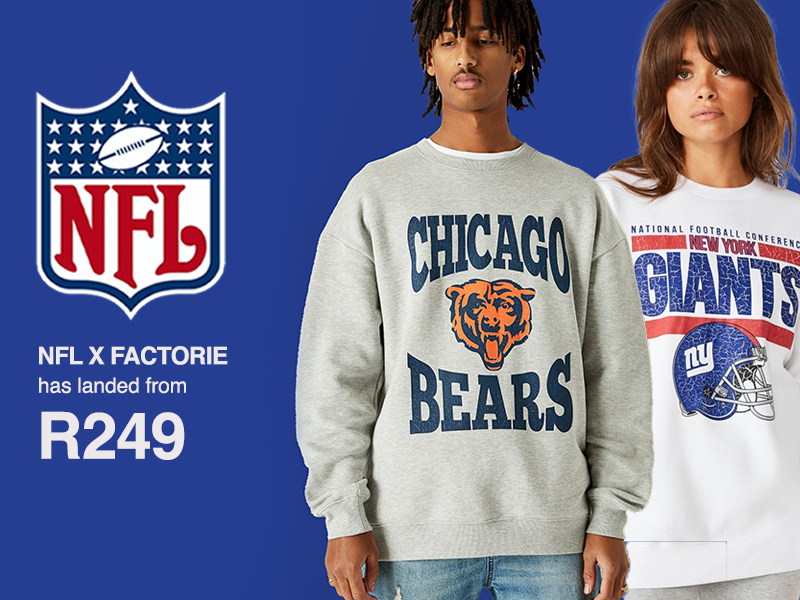 Shop The NFL Collab
