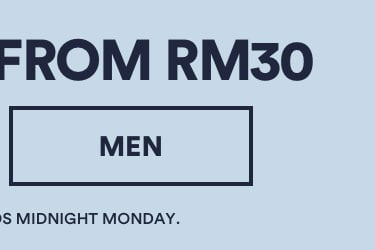 Tops Now From RM30. Click to Shop Mens.