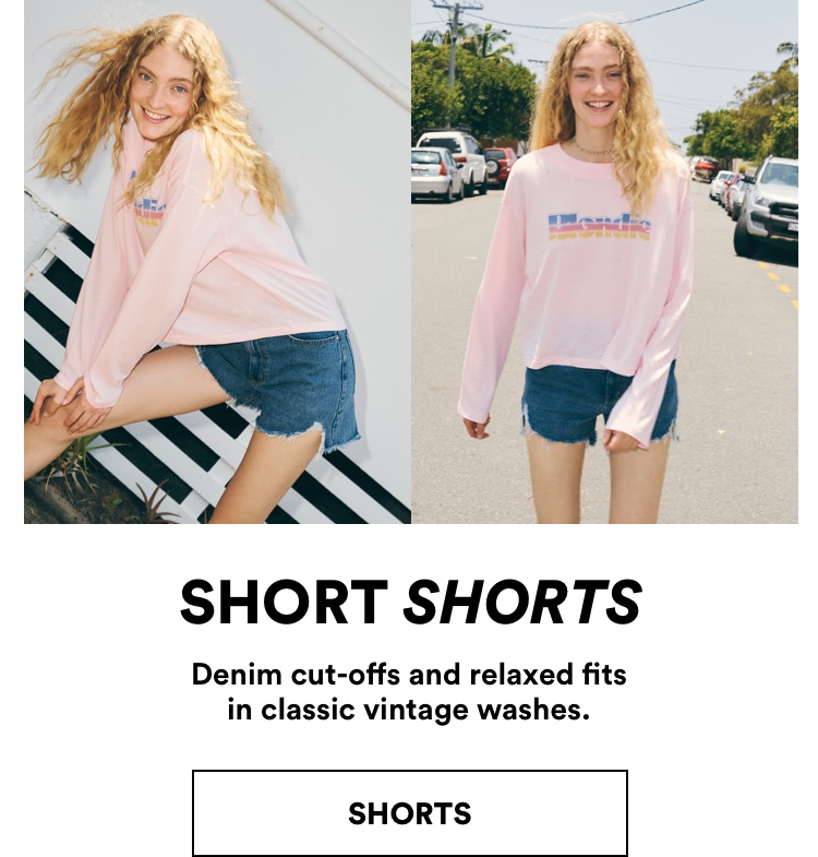 New Spring Women's Shorts. Click to Shop.