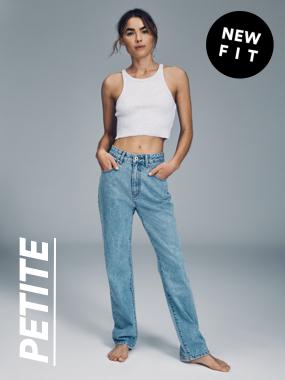 Petite Jeans. Click to shop.