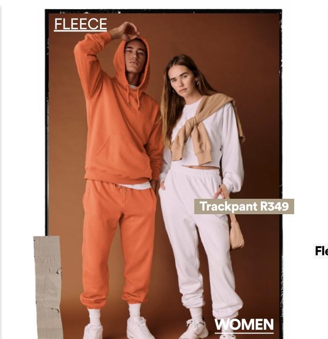Women's Fleece. Click to Shop.
