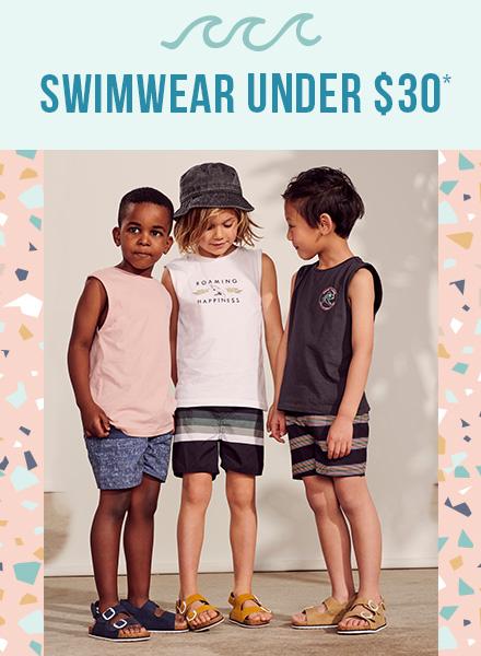 Boys 2-10 Swimwear