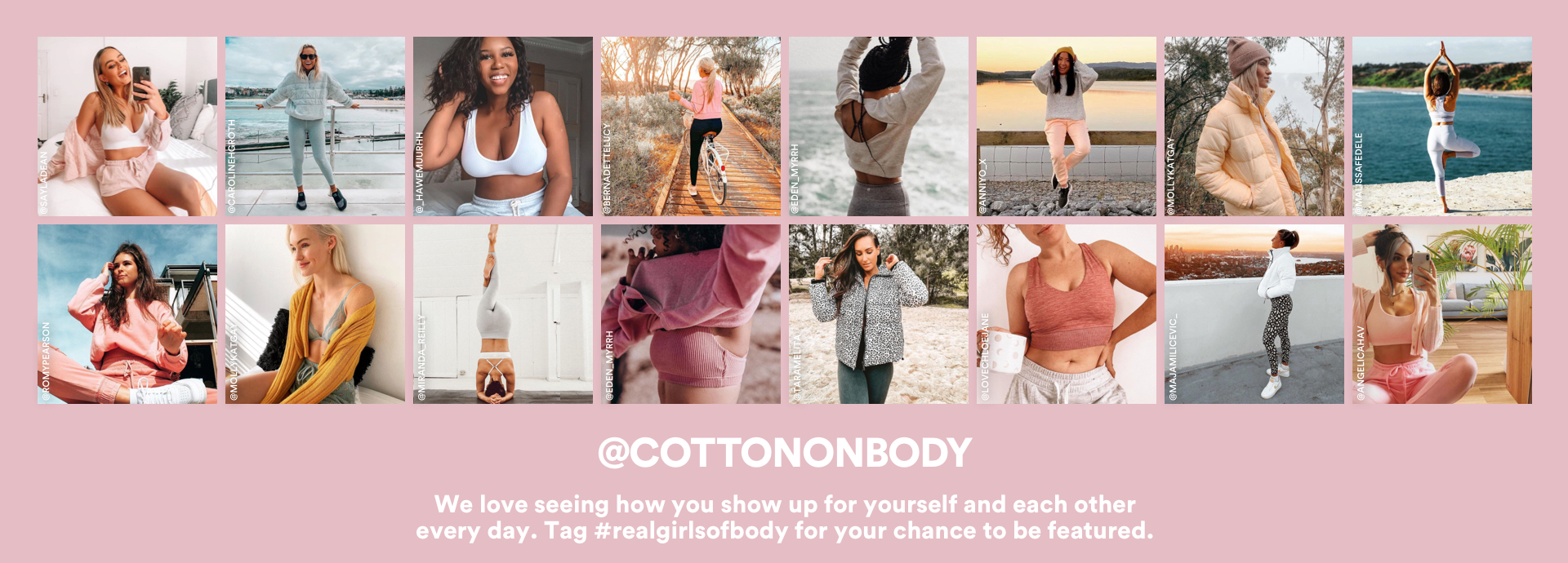 Do your feed a favor. Shop the latest looks and tag #CottonOnBody for your chance to be featured. Click to shop.