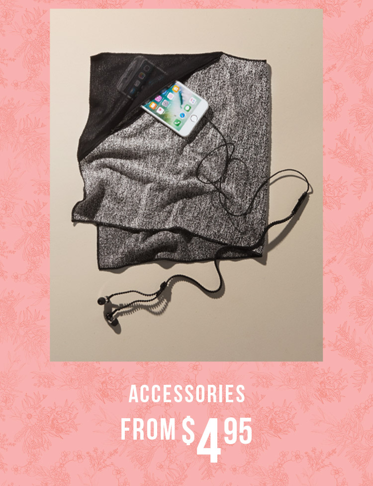 Accessories From $4.95
