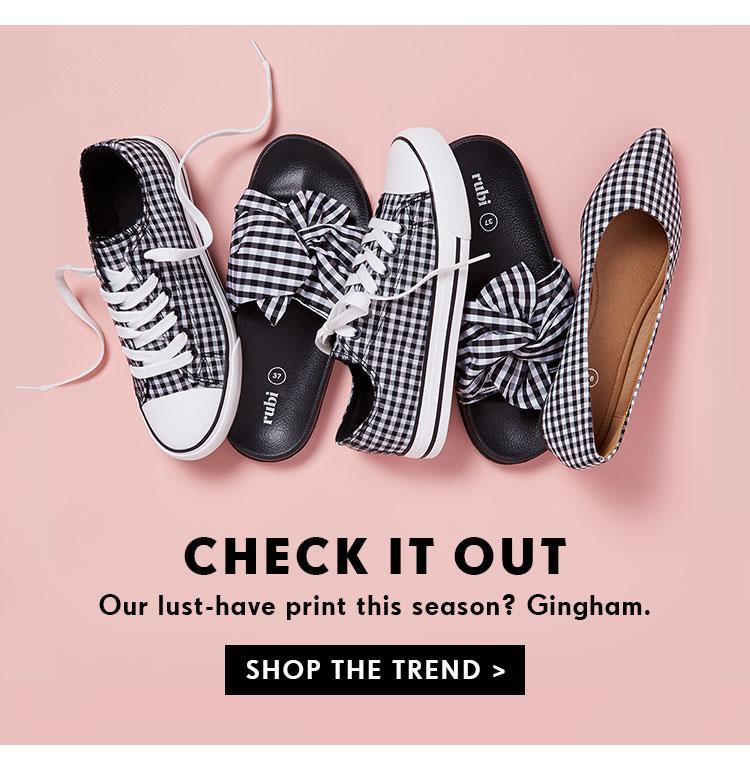 Shop Gingham   Shop Trends Online Now