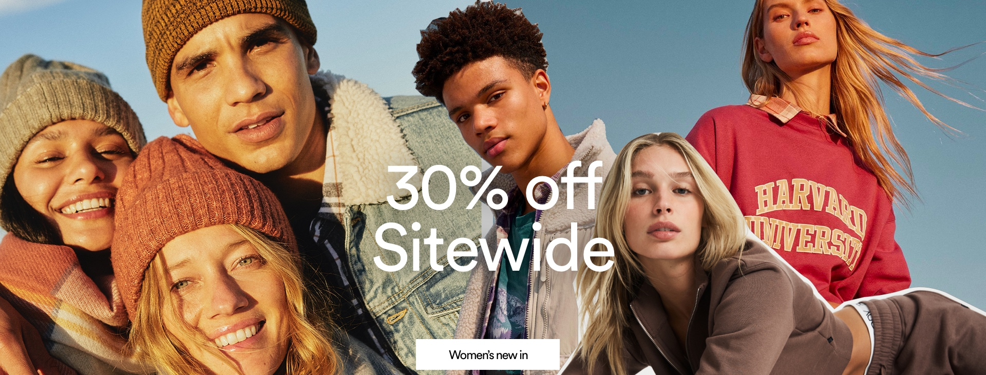 30% Off Everything. Click to Shop Women.