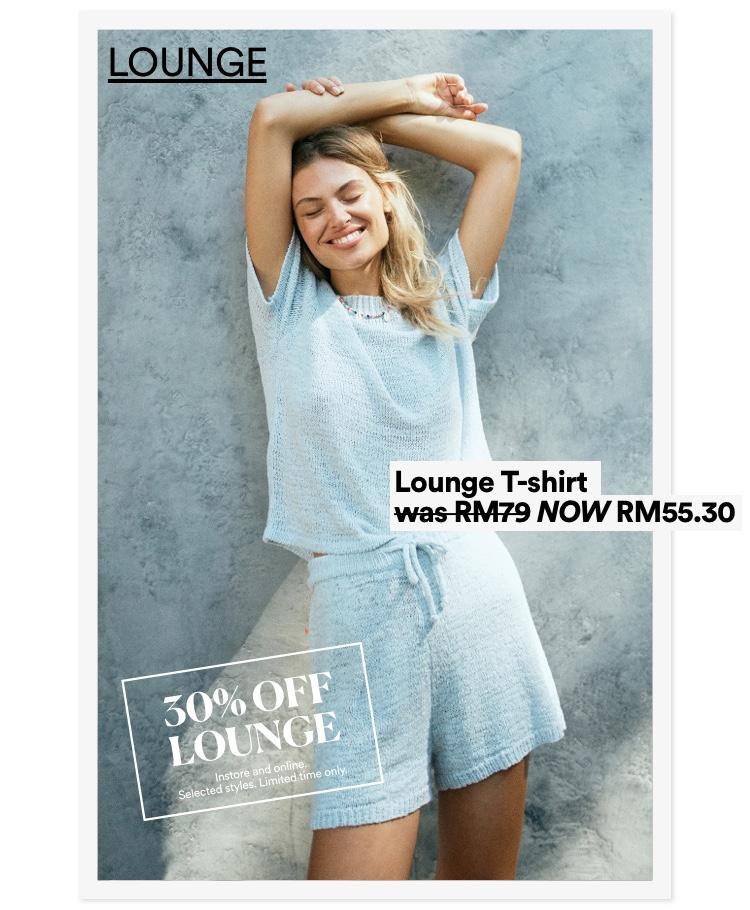 Women's Lounge. Click to Shop