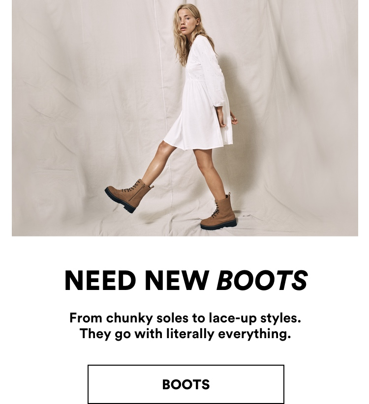 Need Now Boots. Shop Now.