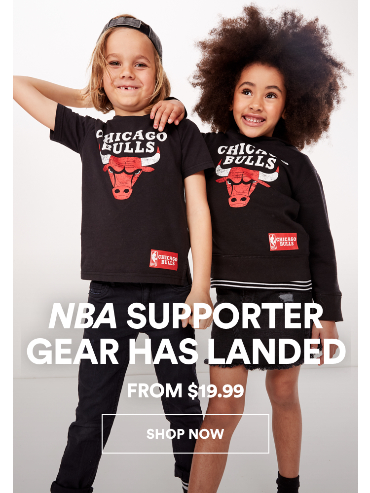 Kids NBA Supporter Gear Has Landed. Click to shop.
