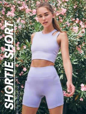 Shortie Shorts. Click to shop.
