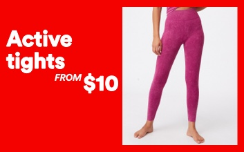 Active Tights now $15. Click to shop.