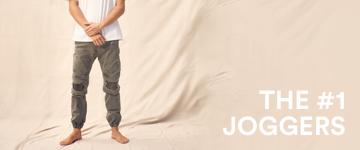 Men's Joggers. Click to Shop.