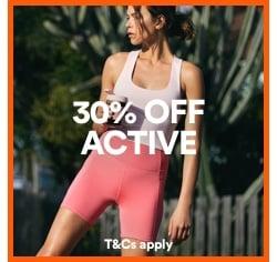Women's Activewear. Click to shop