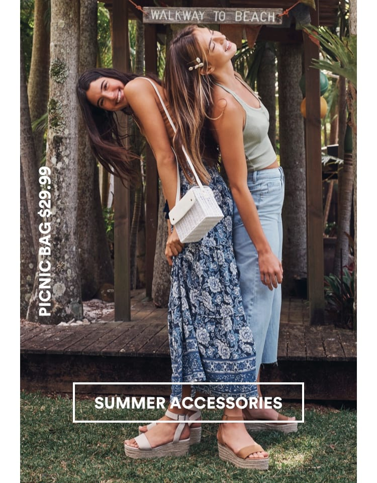 Cotton On Summer Accessories. Click to Shop
