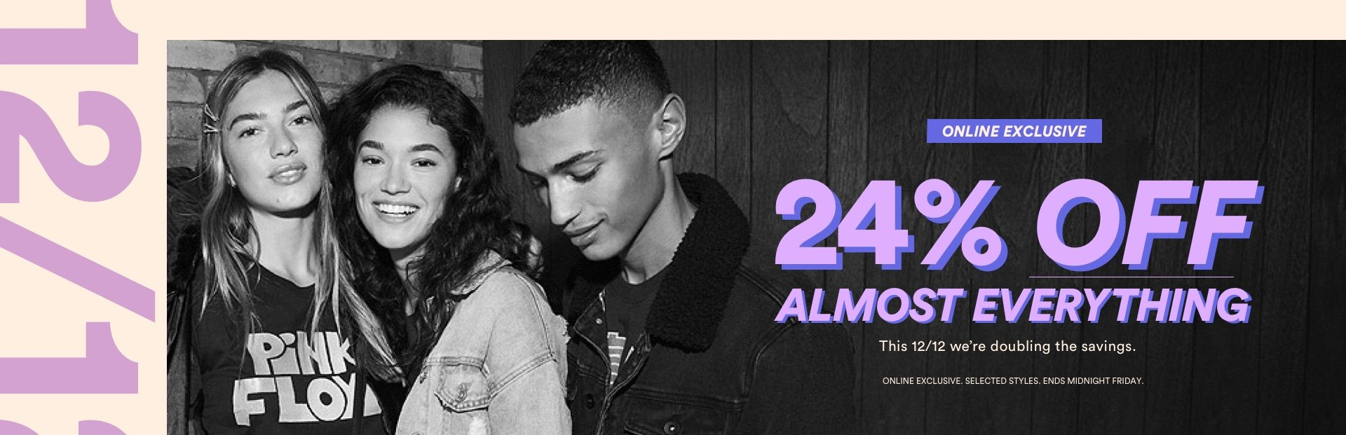 24% Off Almost Everything. Click to Shop