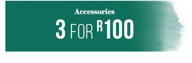 Shop 3 for R100 Accessories