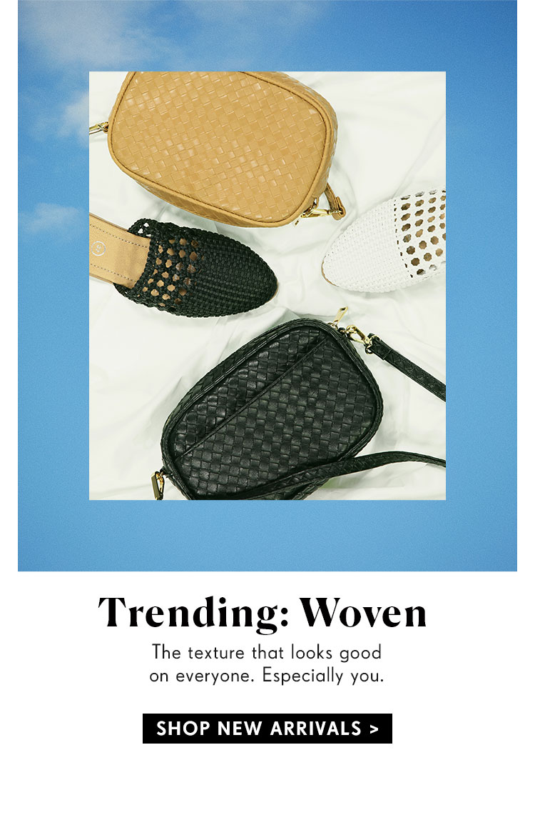 Trending: Woven | Shop Rubi New Arrivals