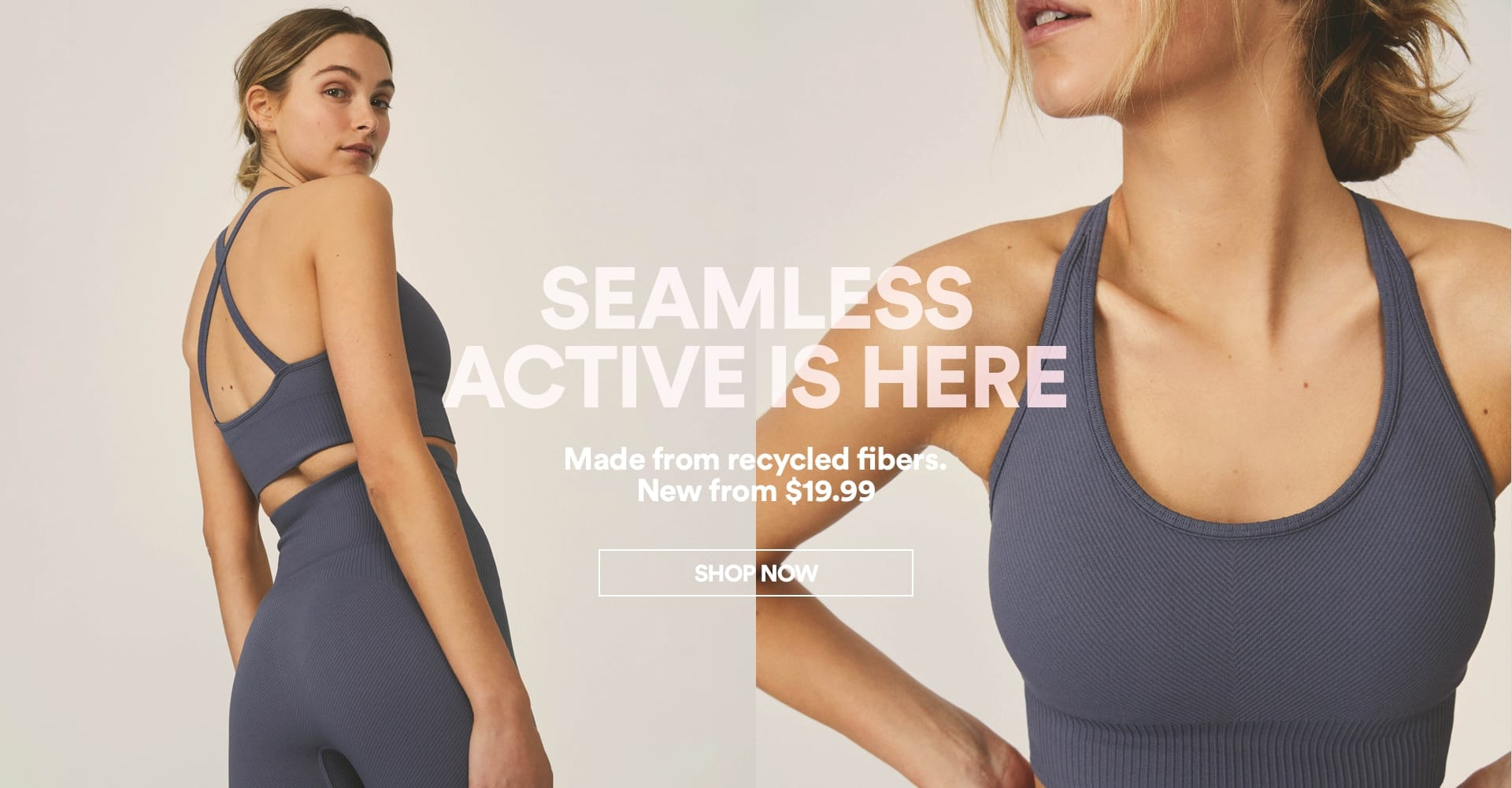 Seamless Active Is Here. Click To Shop