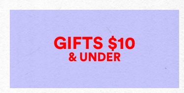 Gifts Under 10. Click to shop.