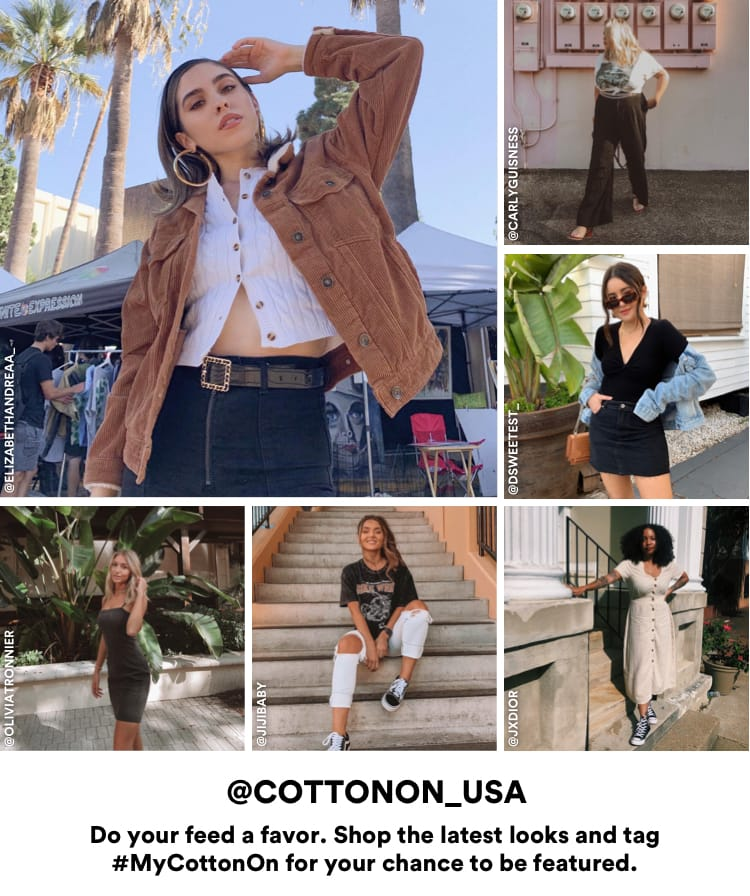 @CottonOn_USA. Click to Shop the Latest Looks.