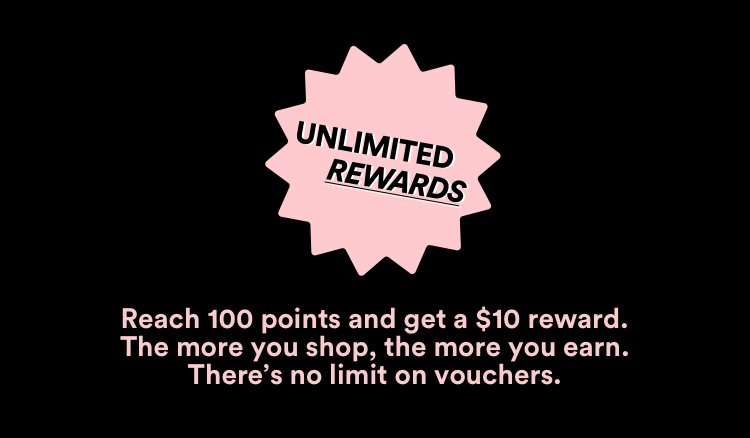 Unlimited Rewards: Reach 100 points and get a $10 reward.