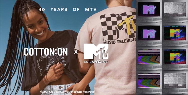 Cotton On X MTV