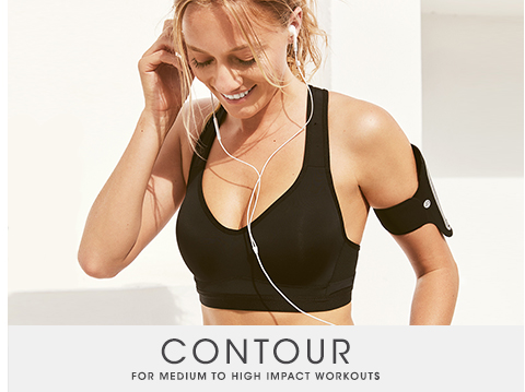 Shop Active Contour Bras For Medium Impact Workouts