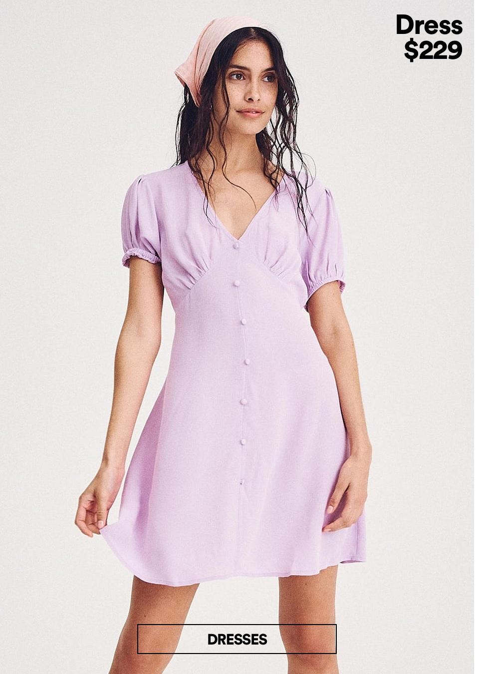 Dresses. Click to Shop.