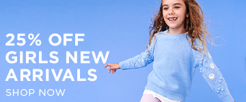 Girls New Arrivals. Shop Now.