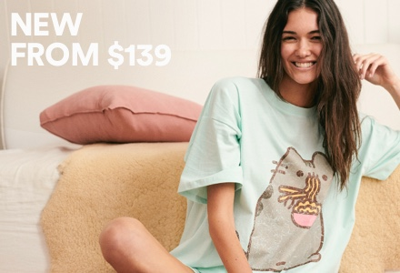 New Pusheen. Click to shop