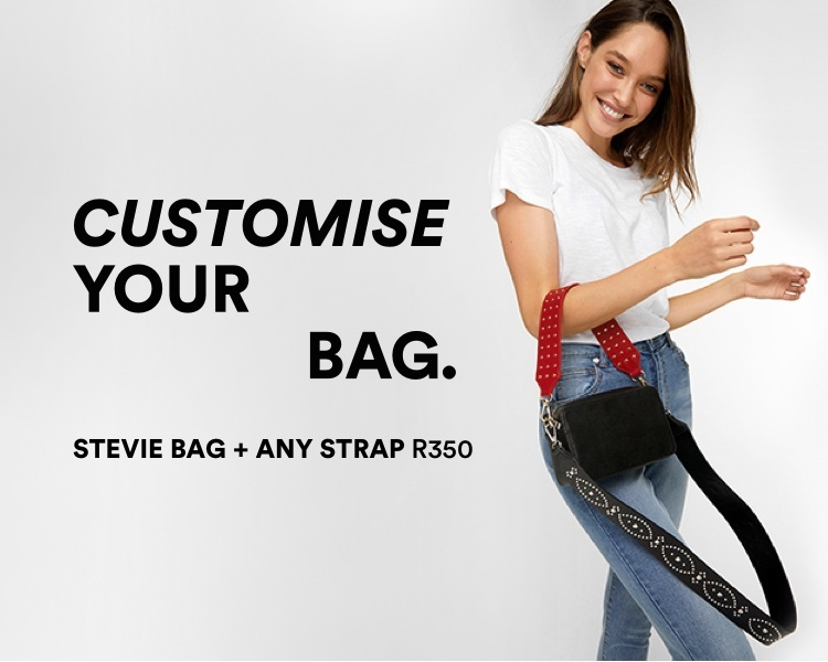 Customise Your Bag. Stevie Bag and Any Strap R350