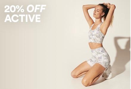 20% Off Active. Click to shop.