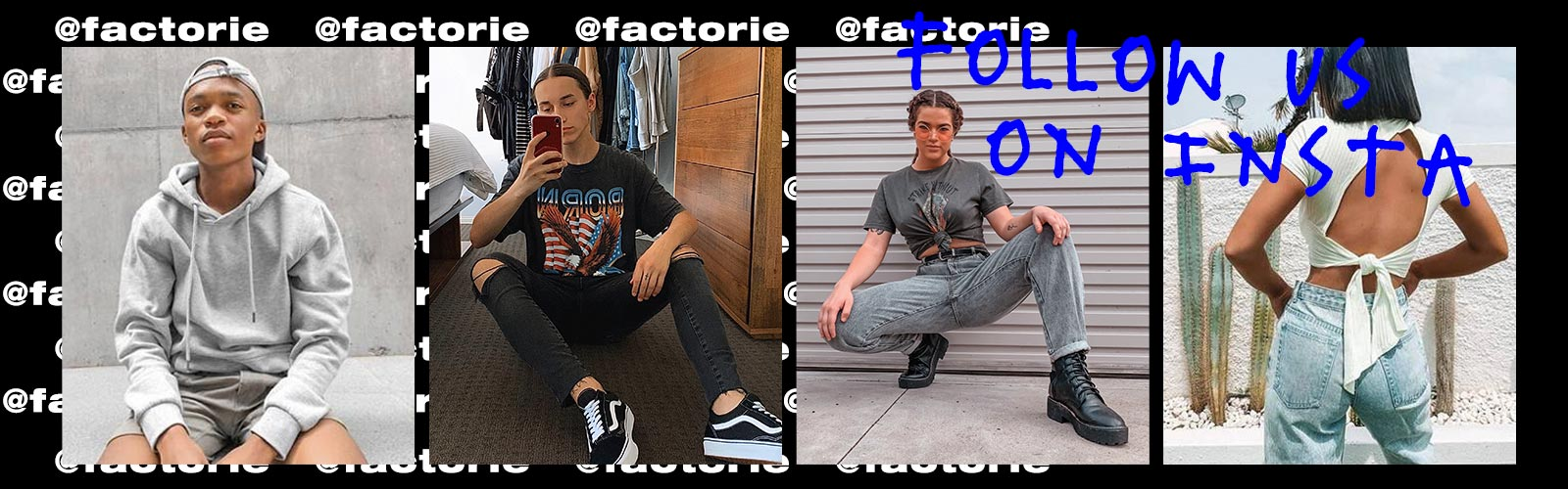 Follow Us @factorie