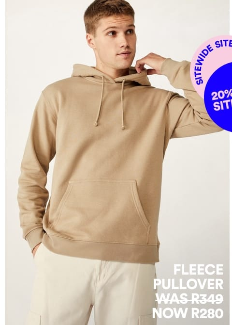 Men's Fleece. Click to shop