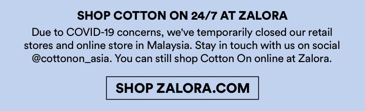 We're here for you. Cotton On Group.
